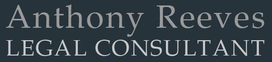 Anthony Reeves LEGAL CONSULTANT